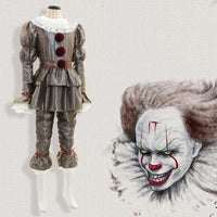 Stephen King's It: Chapter Two Pennywise Full Costume Cosplay Halloween Adult & Kids - WickyDeez