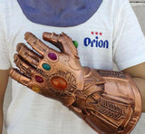 Deluxe Thanos Mask / Infinity Gauntlet Avengers Infinity War EndGame Cosplay Mask and Glove FREE SHIPPING-Marvel Comics Cosplay-Thanos Gloves-WickyDeez