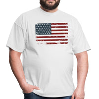 Premium USA Men's T-Shirt American Flag Tee Top - WickyDeez