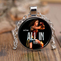 Are you ALL IN? Wonder Woman Justice League Pendant Necklace-DC Comics Cosplay-WickyDeez