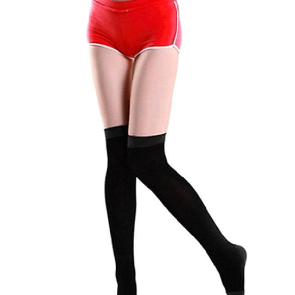 Knee High Reshaping Slimming Compression Socks-Women's Bottoms-WickyDeez