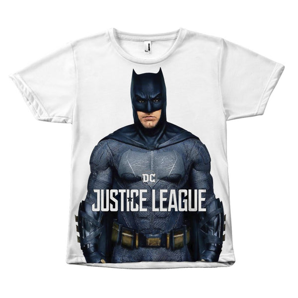 Batman Justice League Ben Affleck Canvas Size - Unisex Tee Shirt-DC Comics Cosplay-WickyDeez