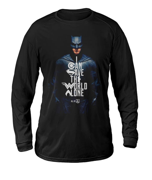 Batman Justice League - Dry Sports Tee-DC Comics Cosplay-WickyDeez