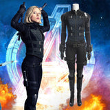 Black Widow Complete Costume Set Cosplay Avengers 3 Infinity War Natasha Romanof-Marvel Comics Cosplay-WickyDeez