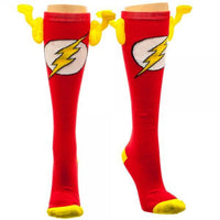 DC Comics Flash Juniors Knee High Socks with Wings-MXED-WickyDeez