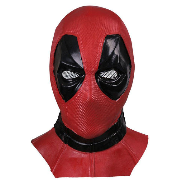 Deadpool Deluxe Latex Mask Wade Wilson X-Men Costume Comic Con-Marvel Comics Cosplay-WickyDeez