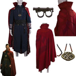 Dr Doctor Strange Ring, Eye of Agamotto, Cloak of Levitation and Full Costume-Marvel Comics Cosplay-WickyDeez