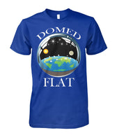 Flat Earth Domed Unisex Premium Tee Shirt for Men & Women-Men's Tops-WickyDeez