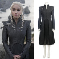 Game of Thrones Season 7 Daenerys Targaryen Mother of Dragons Cosplay Costume-TV Shows-WickyDeez