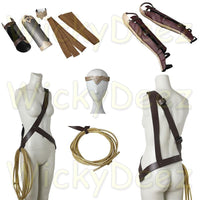 Handmade Wonder Woman Movie Costume Accessories-DC Comics Cosplay-WickyDeez