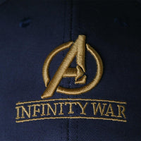 Inspired by Infinity War Crew Hat Equip Embroidered Infinity Gauntlet Cap Marvel Avengers-Marvel Comics Cosplay-WickyDeez