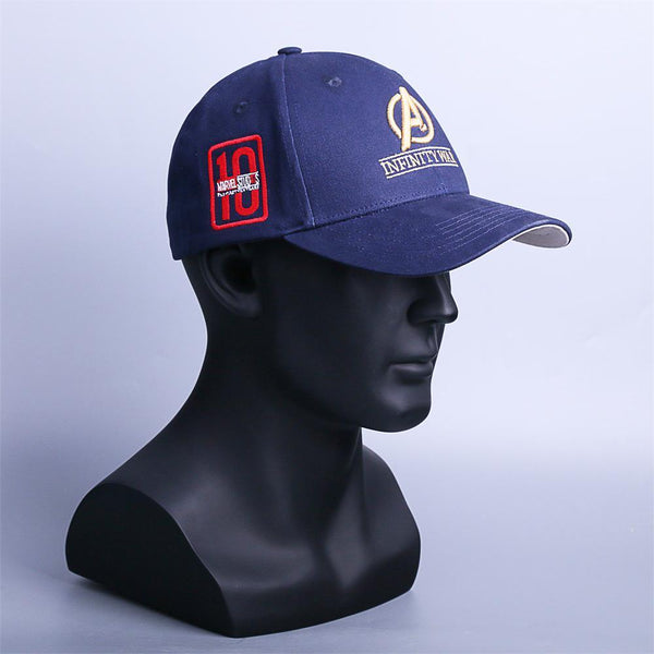 5a7fcbd1ca8 Inspired by Infinity War Crew Hat Equip Embroidered Infinity Gauntlet Cap  Marvel Avengers-Marvel Comics