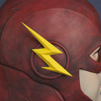 Inspired by The Flash Barry Allen Full Face Mask Helmet Hood for Cosplay-DC Comics Cosplay-WickyDeez