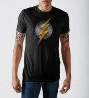 Justice League Flash Logo T-Shirt-DC Comics Cosplay-WickyDeez