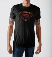 Justice League Superman Logo T-Shirt-DC Comics Cosplay-WickyDeez