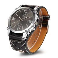 Luxury Leather Watch from Quartz (Choose from 3 Colors)-Accessories-WickyDeez