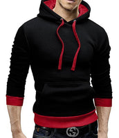 Men's Brand Leisure Hoodie Jumper Pullover Jacket Sportswear - 5 Colors-Men's Tops-WickyDeez