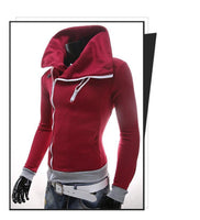 Men's Casual Leisure Hoody Fleece Sportswear Sweatshirt Jumper Jacket - 6 Colors-Men's Tops-WickyDeez
