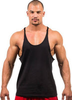 Men's Gym Workout Fitness Tank Top - Up to 7 Colors to Choose From-Men's Tops-WickyDeez