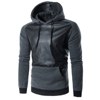 Men's Retro Long Sleeve Hoodie Hooded Warm Thick Cotton Jumper Coat Jacket Top-Men's Tops-WickyDeez