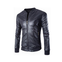 Men's Slim Fit Stylish Patchwork Blazer Suit Jacket - Available in 4 Sizes-Men's Jackets-WickyDeez