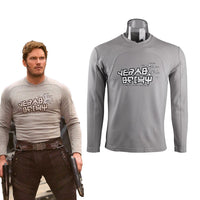 Guardians of the Galaxy 2 Star-Lord Shirt Peter Jason Quill Cosplay Replica-Marvel Comics Cosplay-WickyDeez
