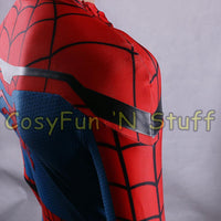 New 2017 Spider-Man Homecoming Cosplay Tom Holland Spiderman Adult 3D Costume-Marvel Comics Cosplay-WickyDeez