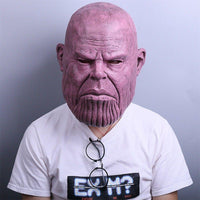 New 2018 Thanos Realistic Face Mask Avengers 3 Infinity War Replica Prop Mask-Marvel Comics Cosplay-WickyDeez