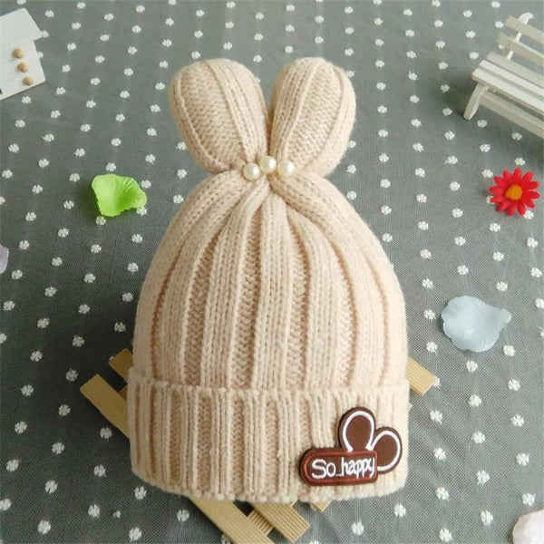 New Born/Baby/Children Fashion Cute Wool Knitted Hats for 3 to 36 Months - 5 Colors-Children's Apparel-WickyDeez