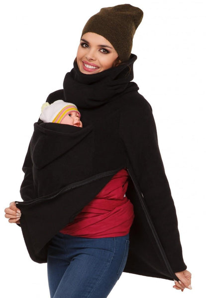 New Women's Multifunctional Maternity+Baby+Hoodies, Baby Carrier Pregnancy Sweatshirt Jacket-Women's Tops-WickyDeez