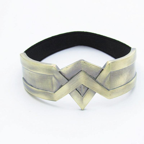 New Wonder Woman Arm Bracelet with Elastic Fitting-DC Comics Cosplay-WickyDeez