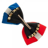DC Comics | Harley Quinn Bow with 'Good Night' Hair Pin-Harley Quinn-WickyDeez