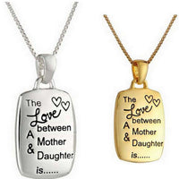 Quality Mother & Daughter Love Jewellery Necklace Pendants-Women's Accessories-WickyDeez