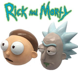 Rick and Morty Masks Full Head Face Adult Masks for Cosplay, Halloween, Parties-Cartoon Characters-WickyDeez