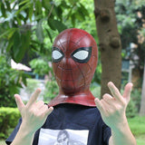 Spider-Man 2018 Avengers 3 Infinity War Cosplay Mask 3D Latex Spiderman Mask-Marvel Comics Cosplay-WickyDeez