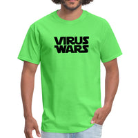 Star Wars or Virus Wars? Humour T-Shirt Top Tee - kiwi