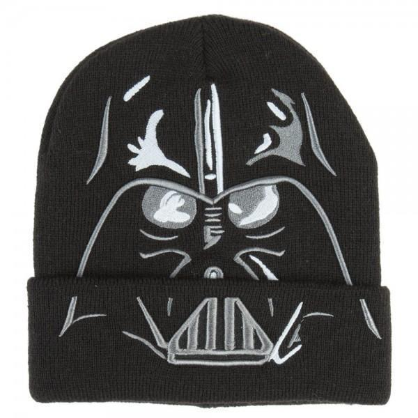 Star Wars Darth Vader Cuff Beanie-WickyDeez