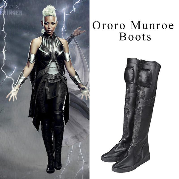 Storm Ororo Munroe X-men Cosplay High Boots Boots Shoes - Various Sizes and Custom Requests Accepted-Marvel Comics Cosplay-WickyDeez