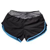 Summer Quick-drying Women Shorts Elastic Waist Pattern A Shorts For Gym Fitness Casual Feminino Short Pants-Women's Bottoms-WickyDeez