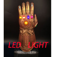Thanos Glowing Gemstones Lights Infinity War Gauntlet Glove Avengers Cosplay Prop-Marvel Comics Cosplay-WickyDeez