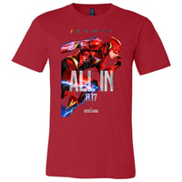The Flash ALL IN Unisex Short Sleeve Jersey Tee-T-Shirts-WickyDeez