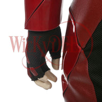 The Flash Justice League Costume Barry Allen Cosplay Costume Deluxe Custom Made-DC Comics Cosplay-WickyDeez