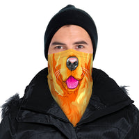 Dog Bandana Face Mask Scarf Cover | 2x - 50x Disposable Five Layer Filter Pads Available