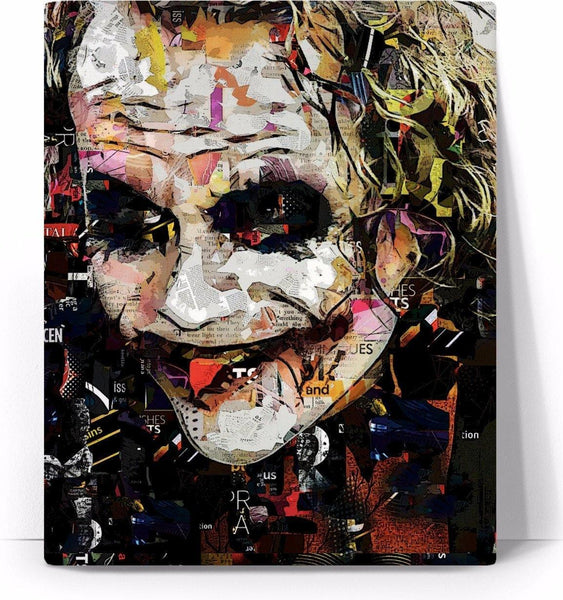 Why So Serious? Collage-Canvas-WickyDeez