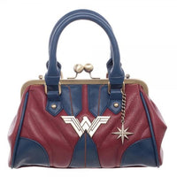 Wonder Woman Costume Inspired Handbag-DC Comics Cosplay-WickyDeez