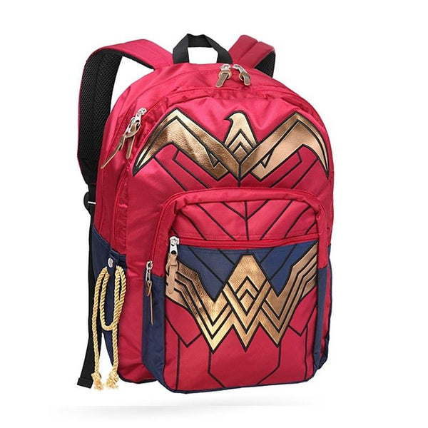 Wonder Woman Dawn of Justice Backpack School Bag-DC Comics Cosplay-WickyDeez