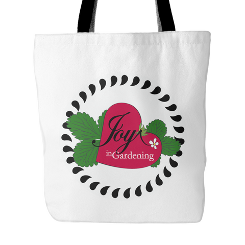 Joy in Gardening Tote