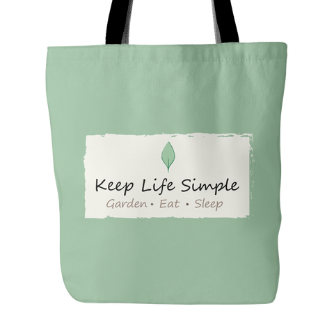 Keep Life Simple Tote