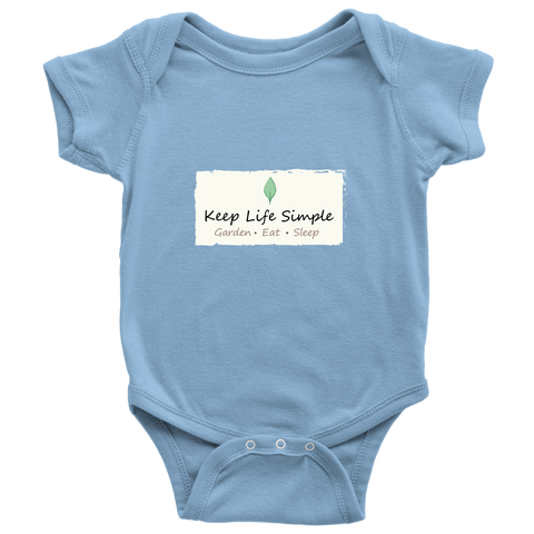 Keep Life Simple Onesie