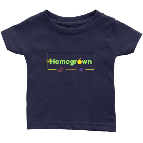 Homegrown and Adorable Toddler and Infant Tees